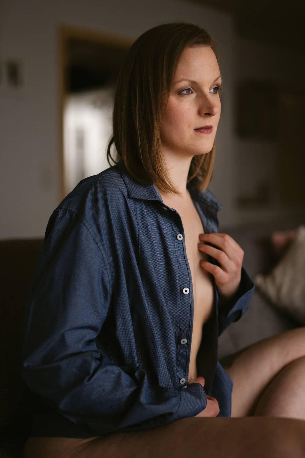 boudoir homeshooting causal