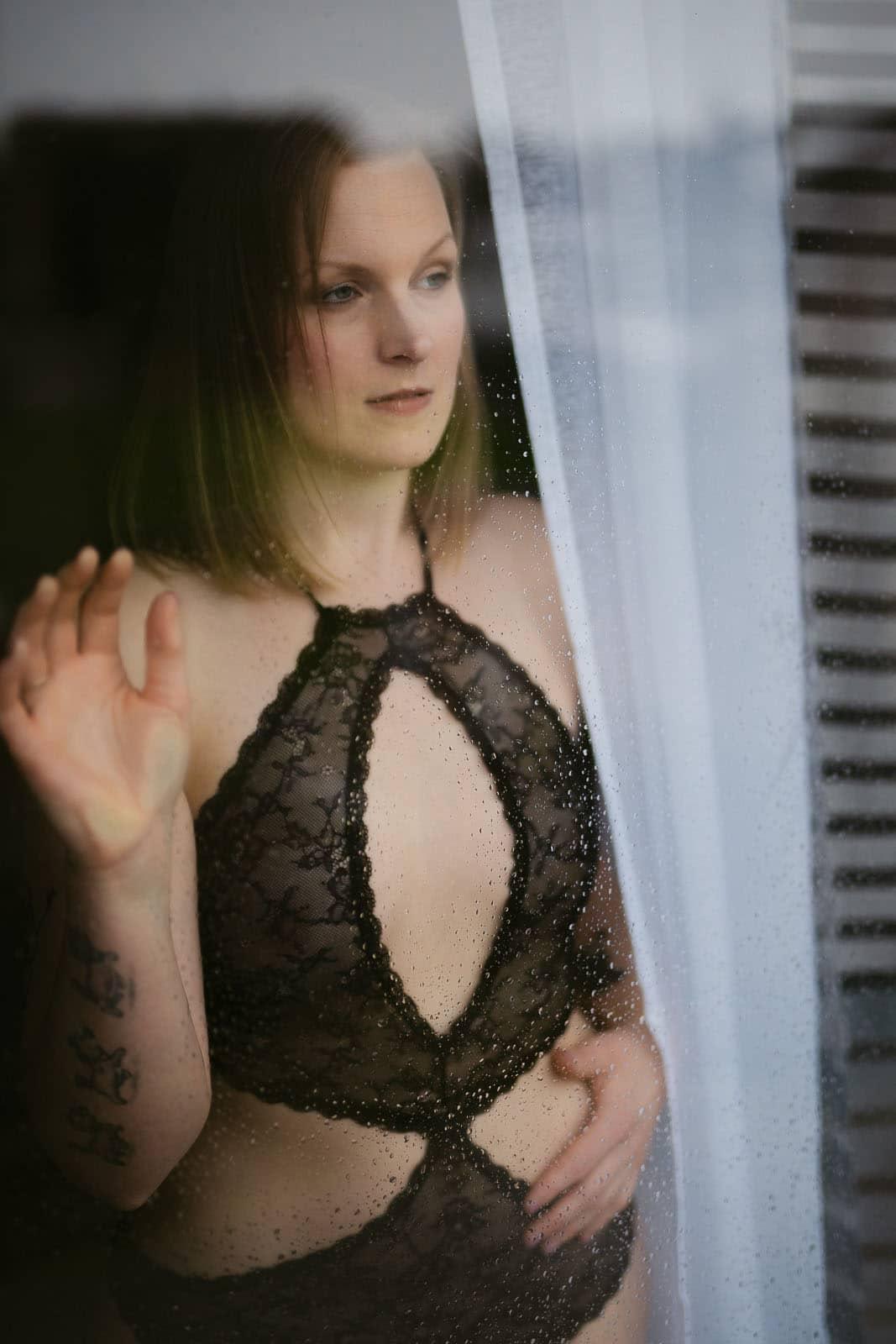 boudoir homeshooting Fenster
